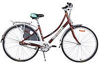 """Велосипед CYCLONE MONACO 3-NEXUS 28"""", рама 20"""", коричневый"""