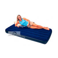 Надувная кровать Intex  Downy 68757 (99*191*22 см)