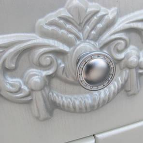 Пенал Ольвия (Атолл) Наполеон-60 белый жемчуг патина серебро Уценка, фото 2