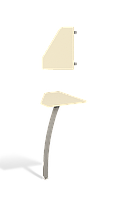 Стол приставной Прайм Р1.26.06
