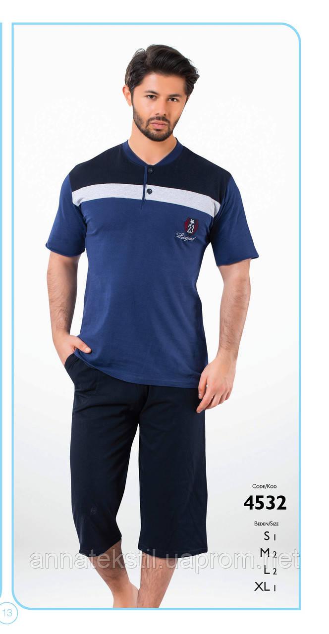 Пижама капри мужская FALKOM арт: 4532