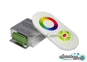 Контроллер RGB  Белый (Сенсорный) 18А. Управление светом. Управление RGB лентой.