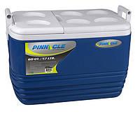 Термобокс Pinnacle Eskimo на 57 л синий (сумка холодильник, термосумка пластиковая, термо контейнер)