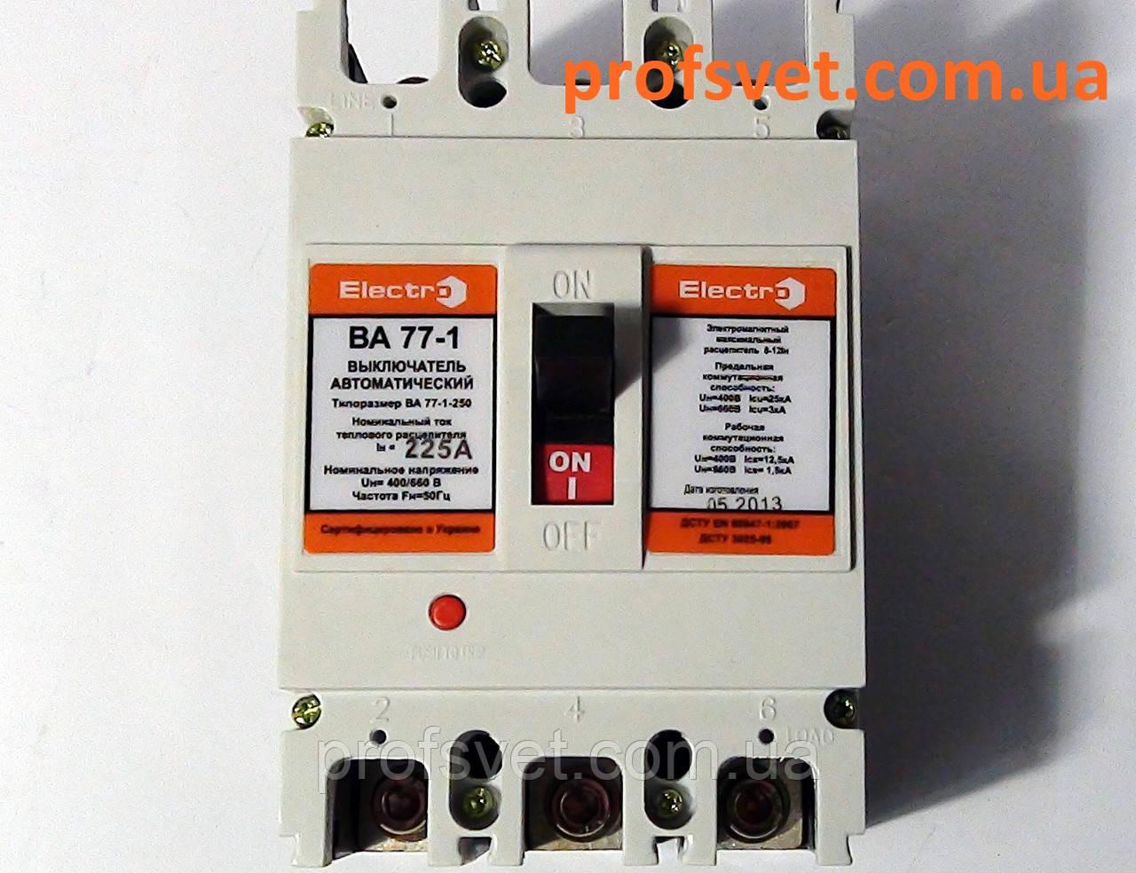 Автоматический выключатель ВА-77 125А щитовой