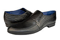 """Мужские туфли  мужские""""классические"""" из натуральной кожи faro 3ч черные   весенние"""