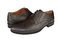 """Мужские туфли  мужские""""классические"""" из натуральной кожи faro 324кор черные   весенние"""