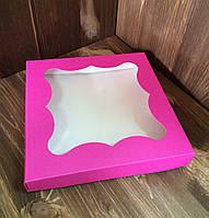 Упаковка под пряник розовая