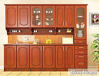 Оля Нова модульная кухня Мебель-Сервис 2600 мм Груша