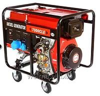 Дизельный генератор Weima WM7000CLE ATS 7,0 кВт 1 фаза, цмл. съемный, авто,Двиг. WM188FBE -12л.с. автоматика