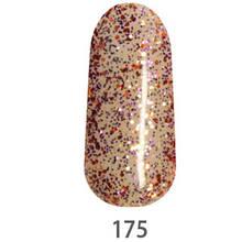 Гель-лак My Nail №175 (полупрозрачный с фиолетовыми,серебряными,бронзовыми блесточками) 9 мл