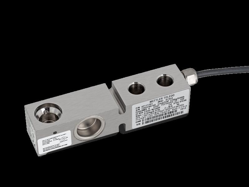 0745A - герметичный стальной балочный датчик веса, взрывозащита