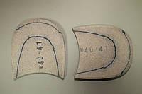 Каблук деревянный (мазанит) (высота-18 мм) размер 40-41, фото 1