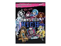 Бумага цветная бархатная (10л цвет)A4 Monster Hig