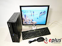 ПК LENOVO ThinkCentre M58 (SFF) + Dell 1707FP бу