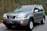 Противотуманные фары Nissan X-Trail T30 с 2003-2007 / Производитель DLAA