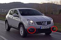 Противотуманные фары Nissan Qashqai с 2007- / Производитель DLAA
