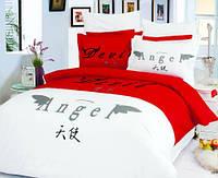 Комплект постельного белья  le vele сатин размер евро DEVIL & ANGEL
