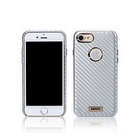 Чехол Remax Carbon для iPhone 7 \ Silver
