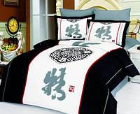Комплект постельного белья  le vele сатин размер евро Zen