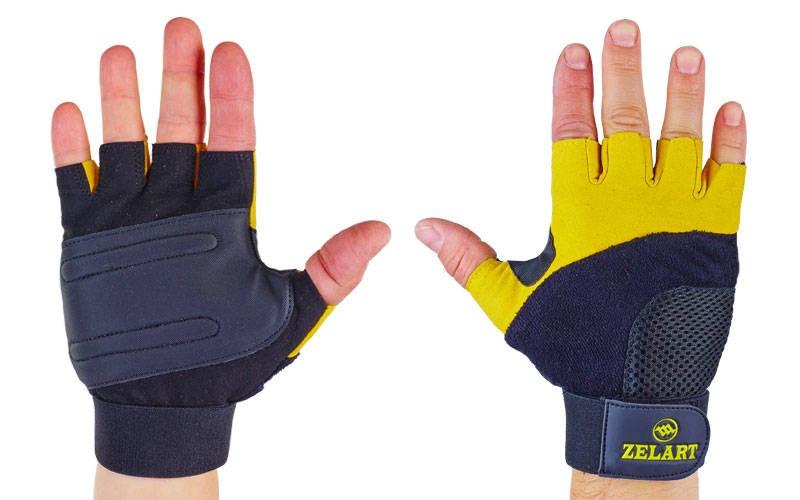 """Перчатки тяжелоатлетические """"Gel Tech"""""""
