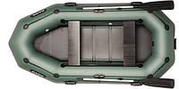 B-280 PD гребная трехместная надувная лодка BARK, фото 1