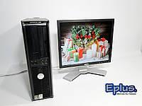 ПК DELL Optiplex 740 AMD ATHLON + Dell 1707 бу