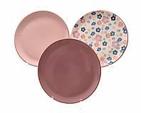 Тарелки для завтрака, фарфор 17cм