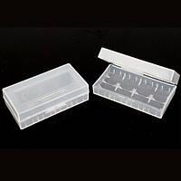 Пластиковый бокс для аккумуляторов 18650 и CR123A