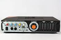 Усилитель звука UKC AK-121 + USB+ Fm+ Mp3+КАРАОКЕ