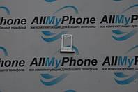 Держатель sim-карты для мобильного телефона Apple iPhone 5S белый