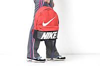 Городской рюкзак спортивный, для ноутбука черный + красный
