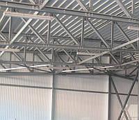 Производственное здание из профиля ЛСТК по технологии БМЗ