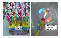 Светящаяся палочка муз. 12 шт. в коробке (96 шт/ящ) (m+)