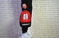 Городской рюкзак спортивный, для ноутбука черный+красный