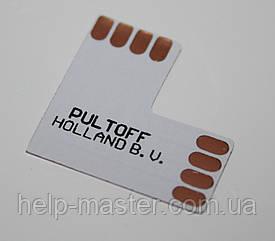 """Коннектор для LED стрічки """"L"""" 10мм"""