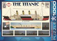Пазл Титаник, 1000 элементов, EuroGraphics