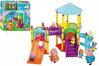 """Детский игровой набор Свинка Пеппа 8836-6 """"Игровая площадка"""""""