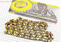 Цепь привода колеса 428Н*118L GOLD