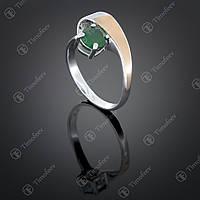 Серебряное кольцо с агатом. Артикул П-406