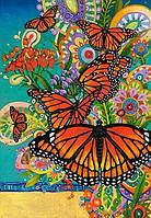 Пазлы Castorland на 1000 Бабочки Монархи68*47 (m+)