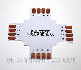 """Коннектор для LED стрічки """"+"""" 10мм"""