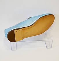Синие летние туфли Aquamarin 2583, фото 3