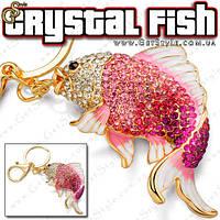"""Брелок Хрустальная рыбка - """"Crystal Fish"""""""