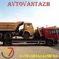 Эвакуация грузовых авто
