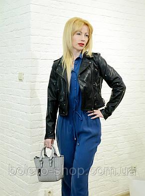 Женский комбинезон брючный джинсовый , фото 2