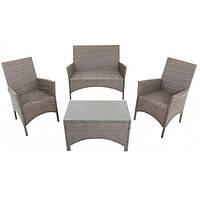 Комплект мебели садовой  4 места из искусственнго ротанга