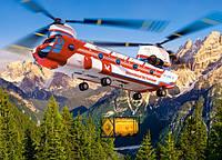 Кастор Castorland пазлы на 300 Вертолет 40*29