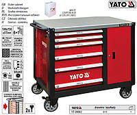 Шкаф инструментальный 6 шуфляд 1000x1130x570 мм YT-09002