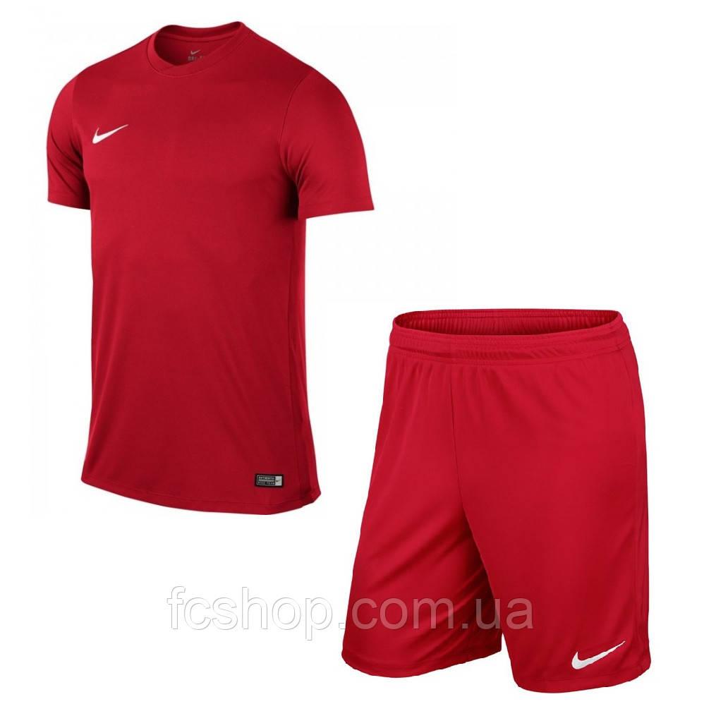 3bf6d23d54b6 Футбольная форма для команд красная Nike Park VI купить, цена в ...