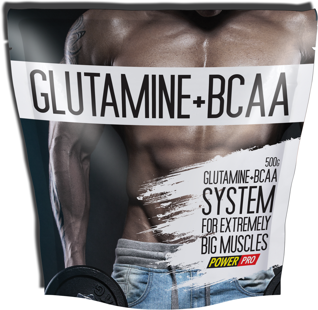 Power Pro Glutamine + BCAA 500 g